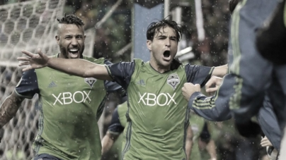 De virada, Seattle Sounders sai na frente na final do Oeste